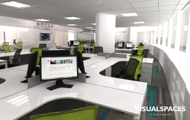 Visual spaces pte ltd singapore interior designer for Corporate interior design singapore