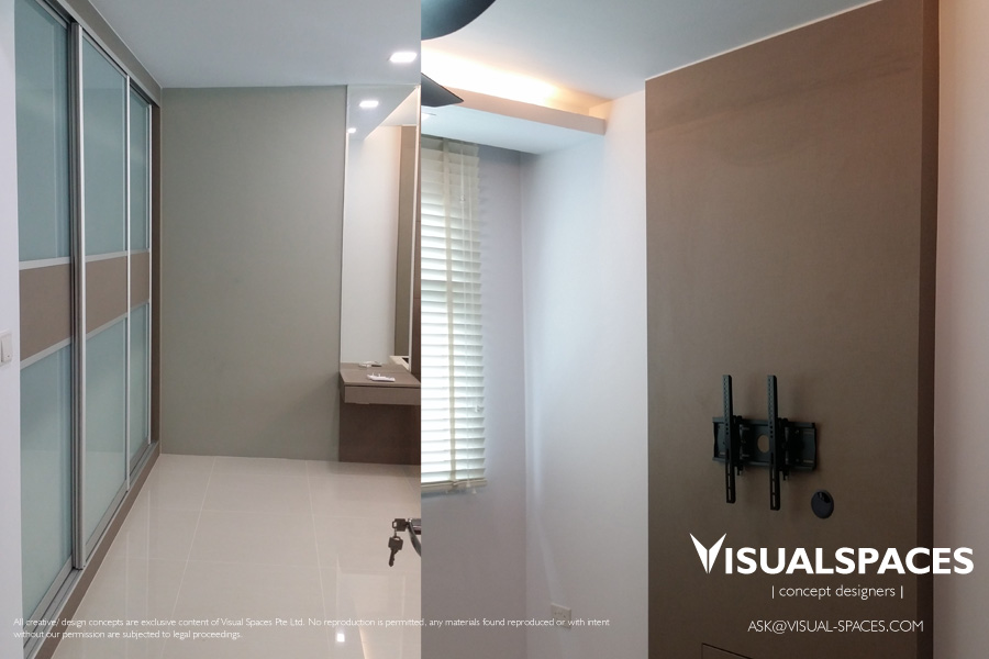 Renovation Of A Hdb 5 Room Flat In Punggol Walk Visual