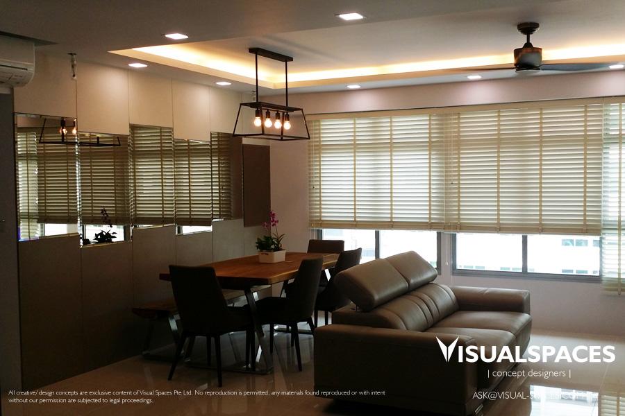Renovation of a hdb 5 room flat in punggol walk visual for 4 bedroom maisonette designs