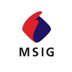Visual Spaces Client - MSIG Insurance Logo