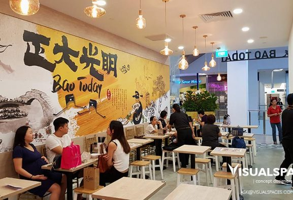 Bao Today Dining Area